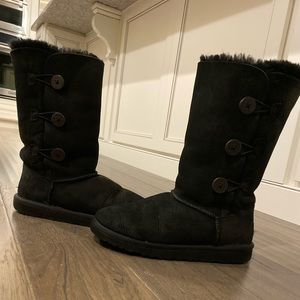 Bailey Button Triplet II Genuine Shearling Boot